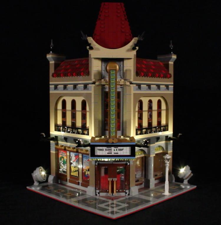 LED Light Kit for LEGO 10232 Palace Cinema - Bricks Delight