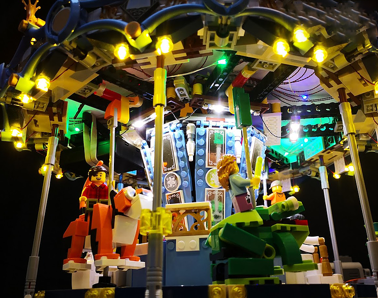 Review LED Ligh for LEGO 10257 The Expert Carousel10 - Bricks Delight