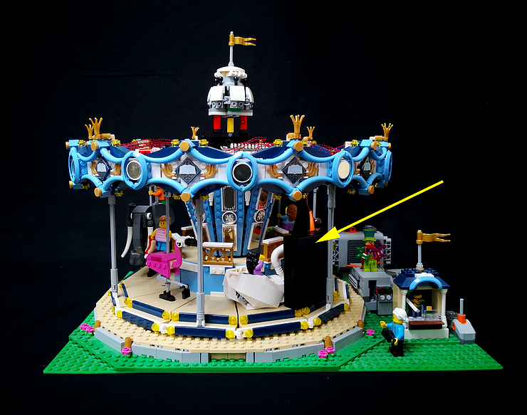 Review LED Ligh for LEGO 10257 The Expert Carousel3 - Bricks Delight