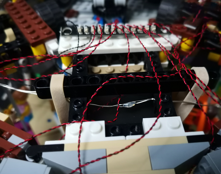 Review LED Ligh for LEGO 10257 The Expert Carousel4 - Bricks Delight