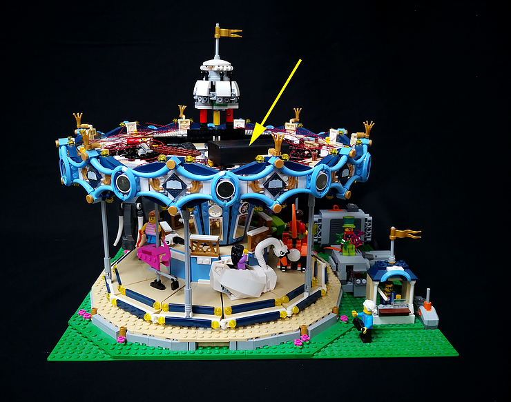 Review LED Ligh for LEGO 10257 The Expert Carousel7 - Bricks Delight