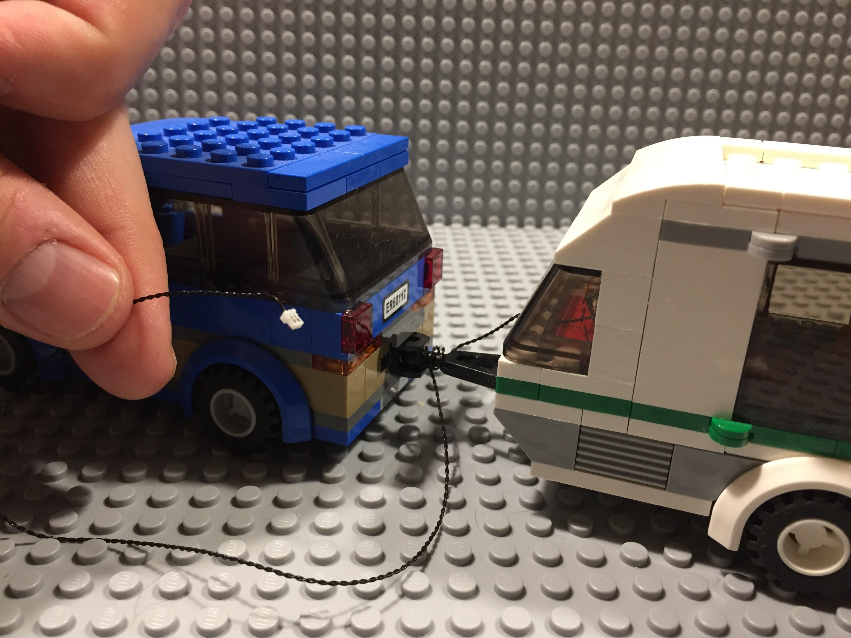 Review LED Light Kit for LEGO 60117 City Car Caravan3 - Bricks Delight