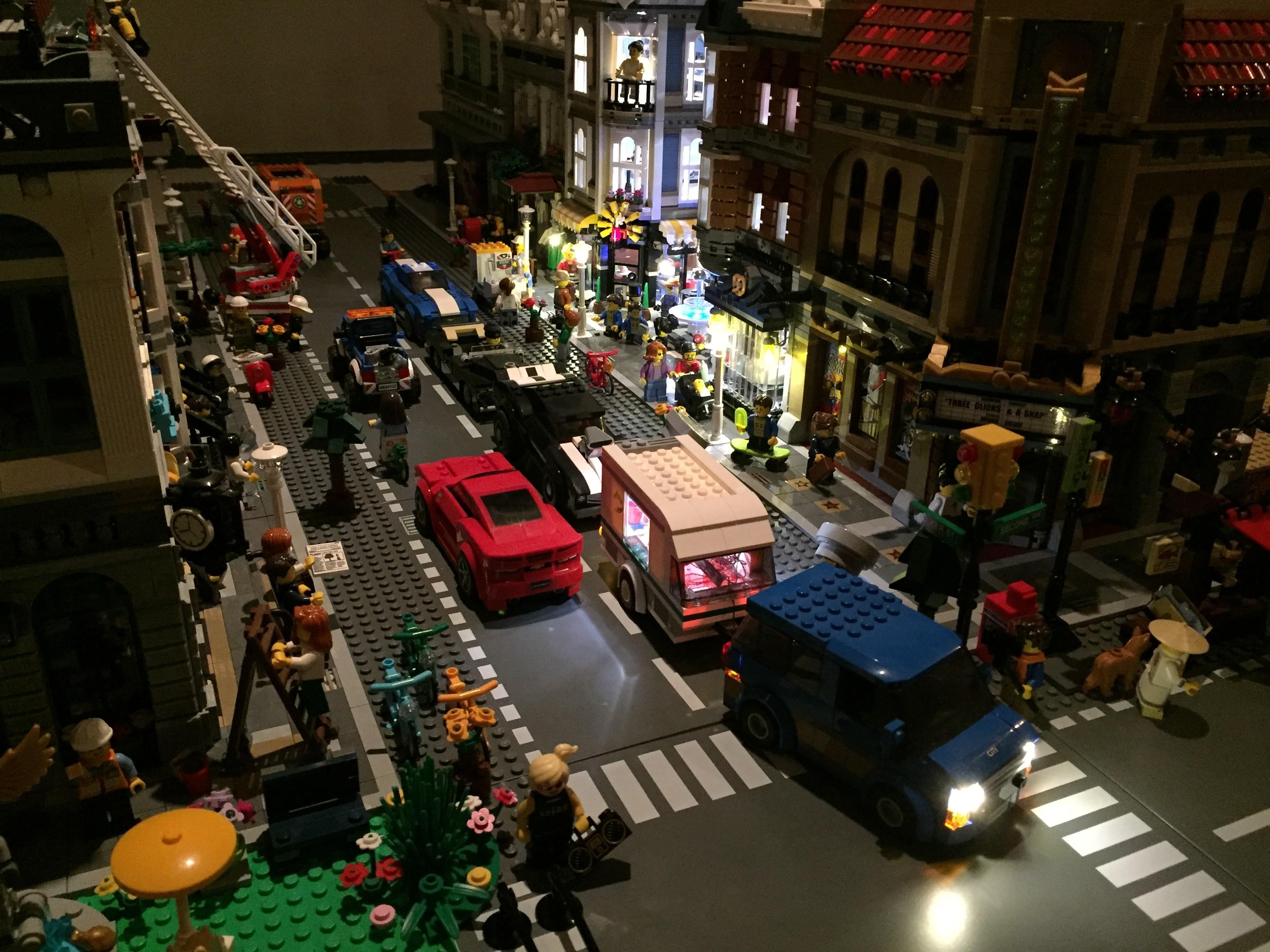 Review LED Light Kit for LEGO 60117 City Car Caravan5 - Bricks Delight