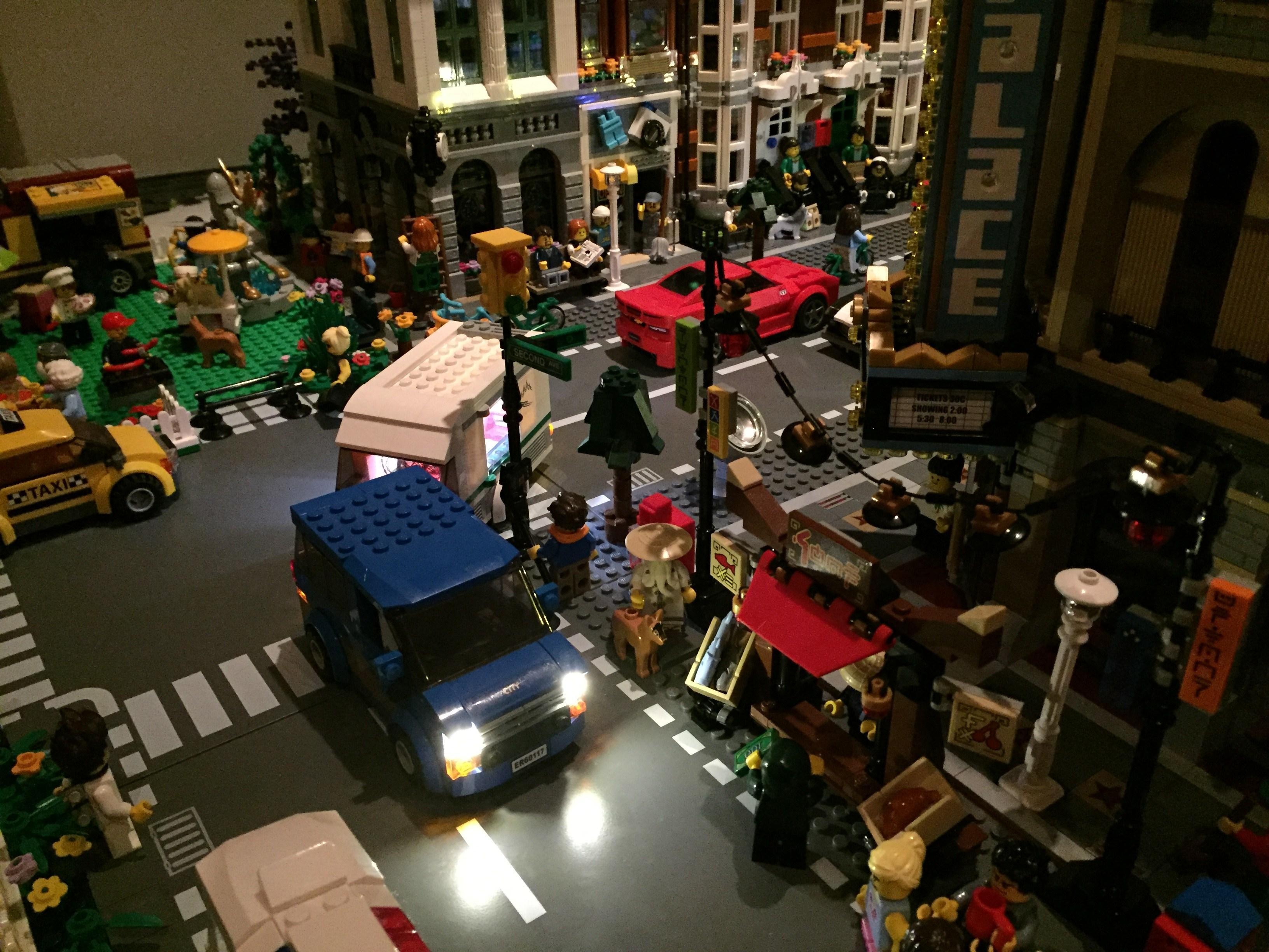 Review LED Light Kit for LEGO 60117 City Car Caravan7 - Bricks Delight