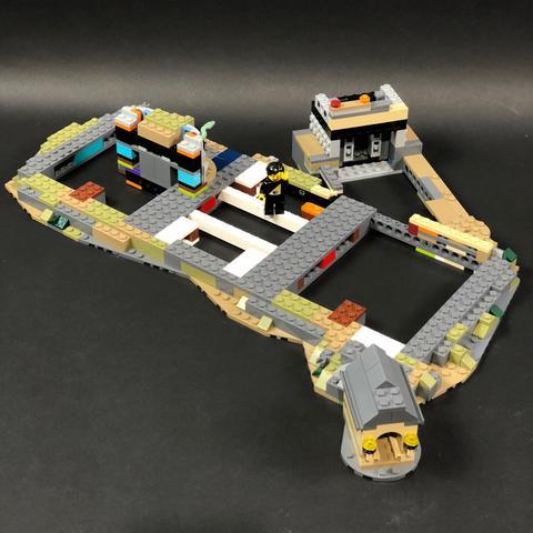 Review LED Light Kit for LEGO 71043 Hogwarts Castle 14 - Bricks Delight