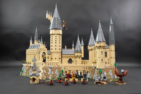 Review LED Light Kit for LEGO 71043 Hogwarts Castle 3 - Bricks Delight