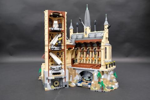 Review LED Light Kit for LEGO 71043 Hogwarts Castle 5 - Bricks Delight