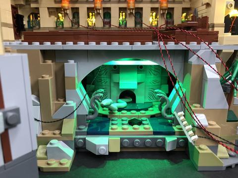 Review LED Light Kit for LEGO 71043 Hogwarts Castle 7 - Bricks Delight