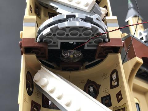 Review LED Light Kit for LEGO 71043 Hogwarts Castle 8 - Bricks Delight