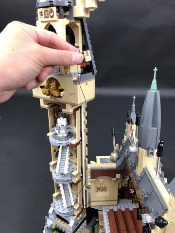 Review LED Light Kit for LEGO 71043 Hogwarts Castle 9 - Bricks Delight