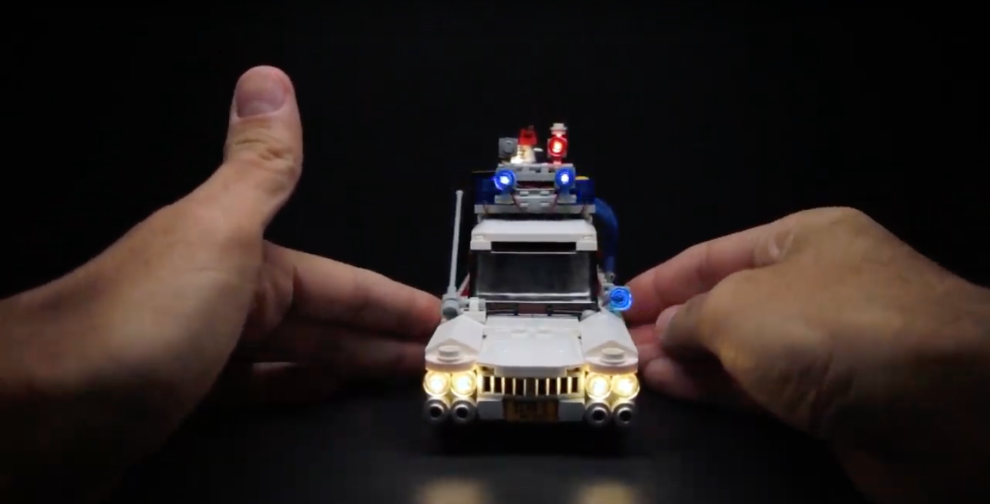Review LED Light for LEGO 21108 Ghostbusters Ecto 11 1 - Bricks Delight