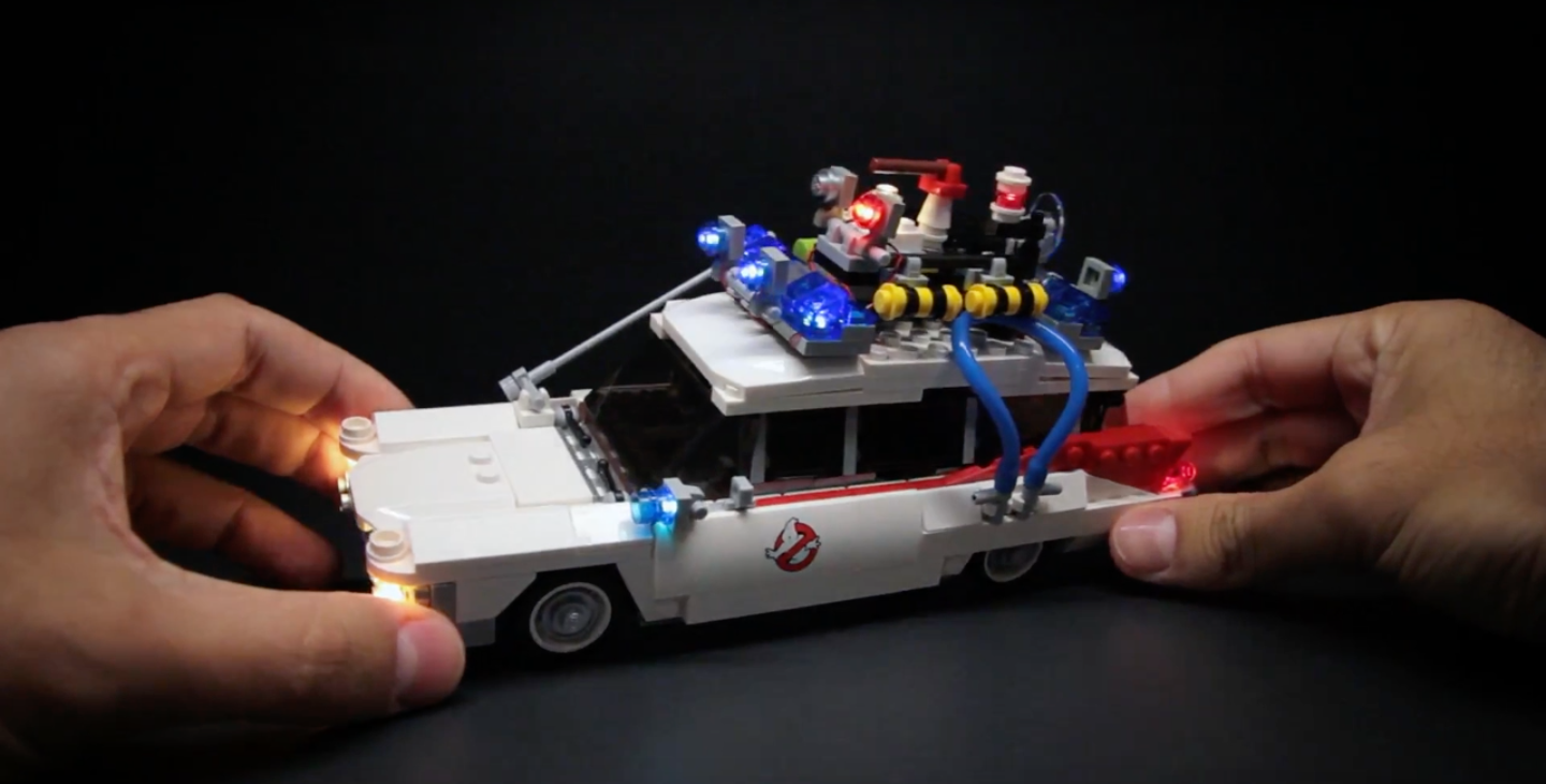 Review LED Light for LEGO 21108 Ghostbusters Ecto 12 1 - Bricks Delight