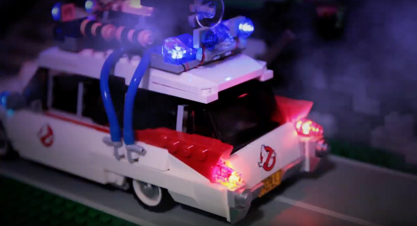 Review LED Light for LEGO 21108 Ghostbusters Ecto 15 - Bricks Delight