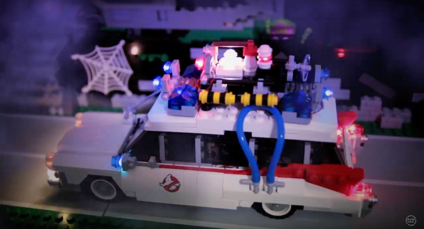Review LED Light for LEGO 21108 Ghostbusters Ecto 18 - Bricks Delight