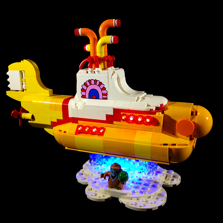 Review LED Light for LEGO 21306 The Yellow Submarine18 - Bricks Delight