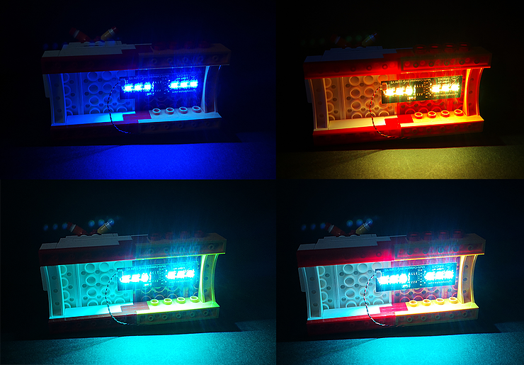 Review LED Light for LEGO 21306 The Yellow Submarine3 - Bricks Delight