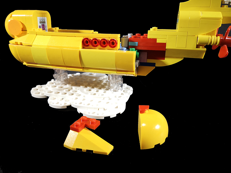 Review LED Light for LEGO 21306 The Yellow Submarine7 - Bricks Delight