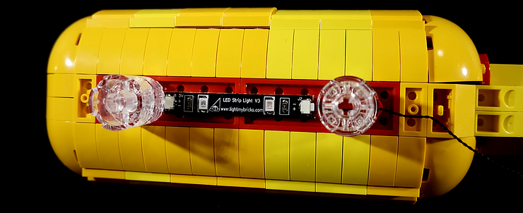 Review LED Light for LEGO 21306 The Yellow Submarine9 - Bricks Delight