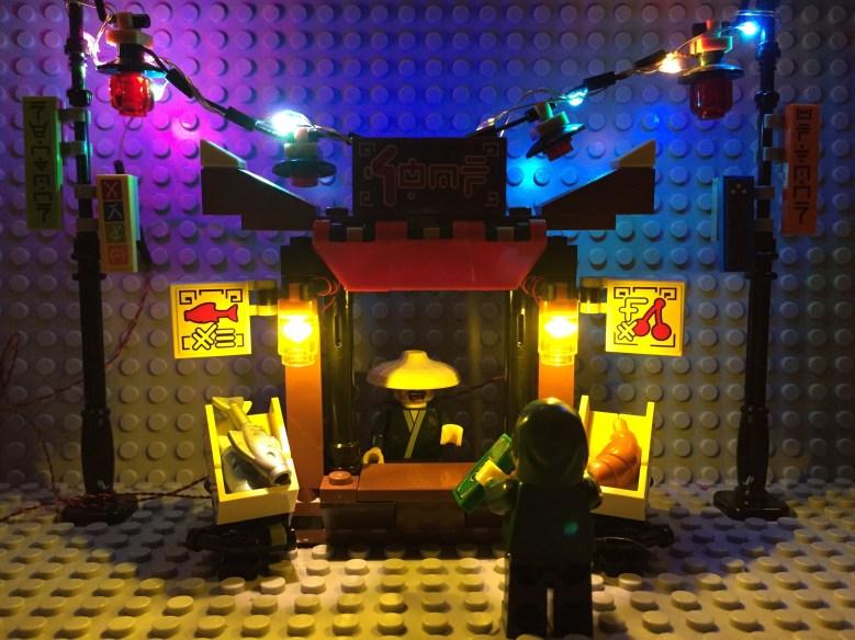 Review LED Light for LEGO 70607 Ninjago City Chase3 - Bricks Delight