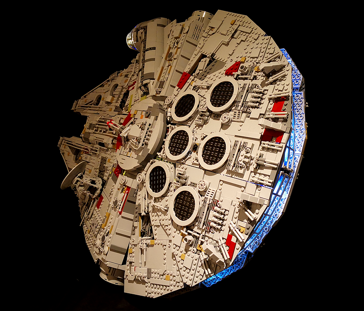 Review LED Light for LEGO Star Wars UCS Millennium Falcon 75192 3 - Bricks Delight