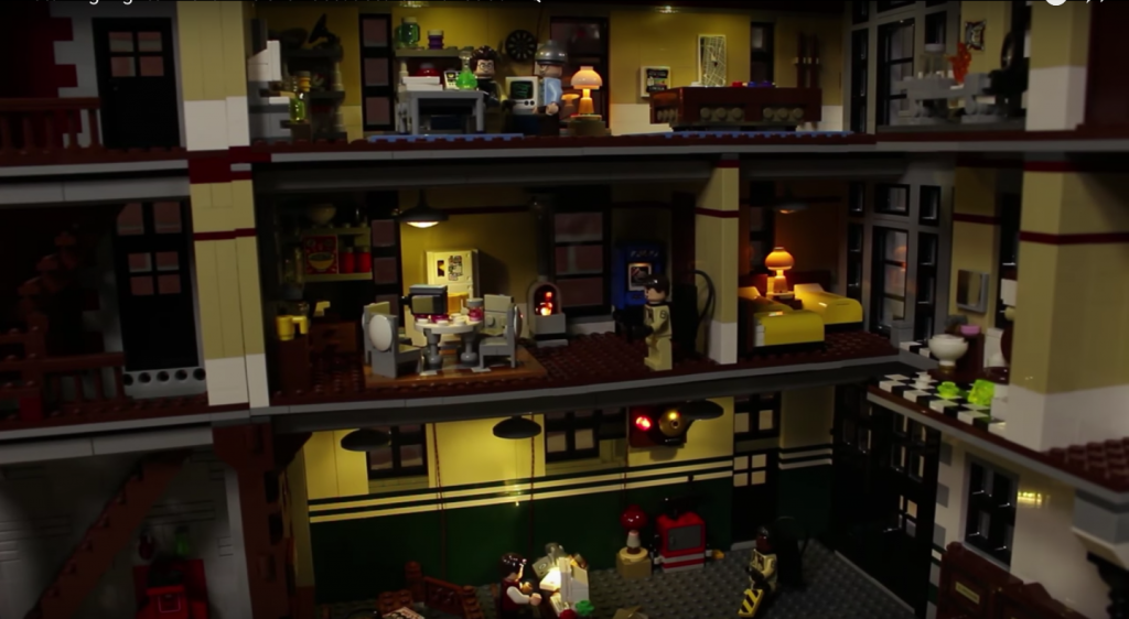 Review LED Light for Firehouse Headquarter 75827 6 - Bricks Delight