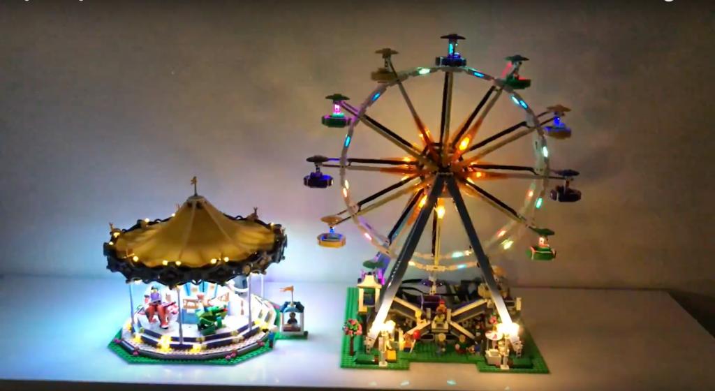 Review LED Light for LEGO FERRIS WHEEL 10247 1 - Bricks Delight