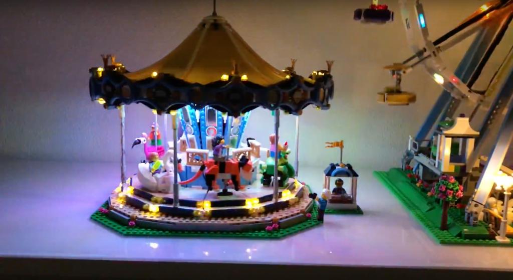 Review LED Light for LEGO FERRIS WHEEL 10247 3 - Bricks Delight