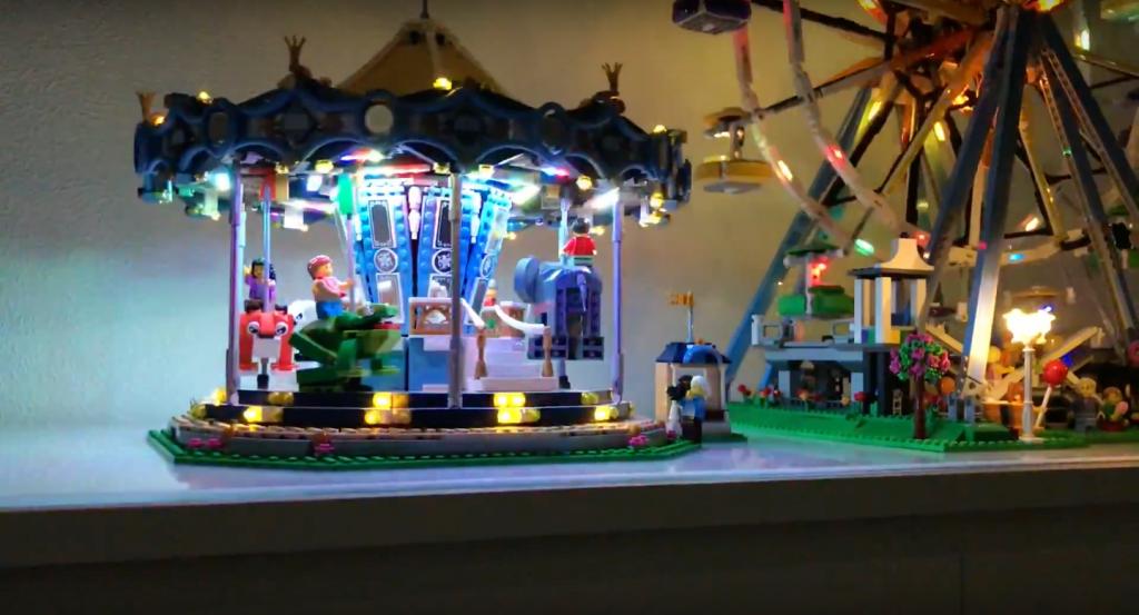 Review LED Light for LEGO FERRIS WHEEL 10247 4 - Bricks Delight