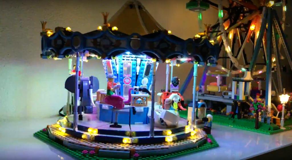 Review LED Light for LEGO FERRIS WHEEL 10247 6 - Bricks Delight