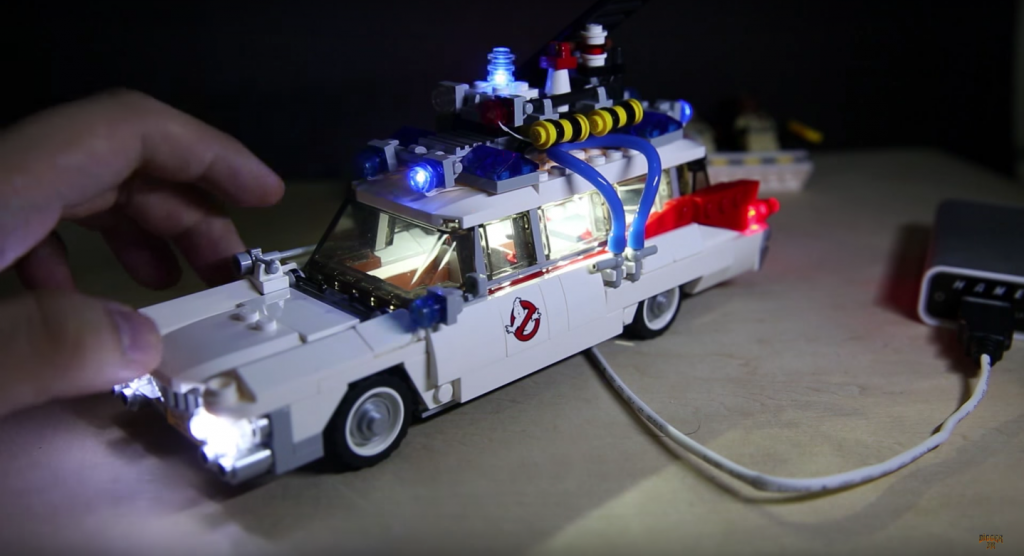 Review LED Light for LEGO GHOSTBUSTERS ECTO 1 21108 1 - Bricks Delight