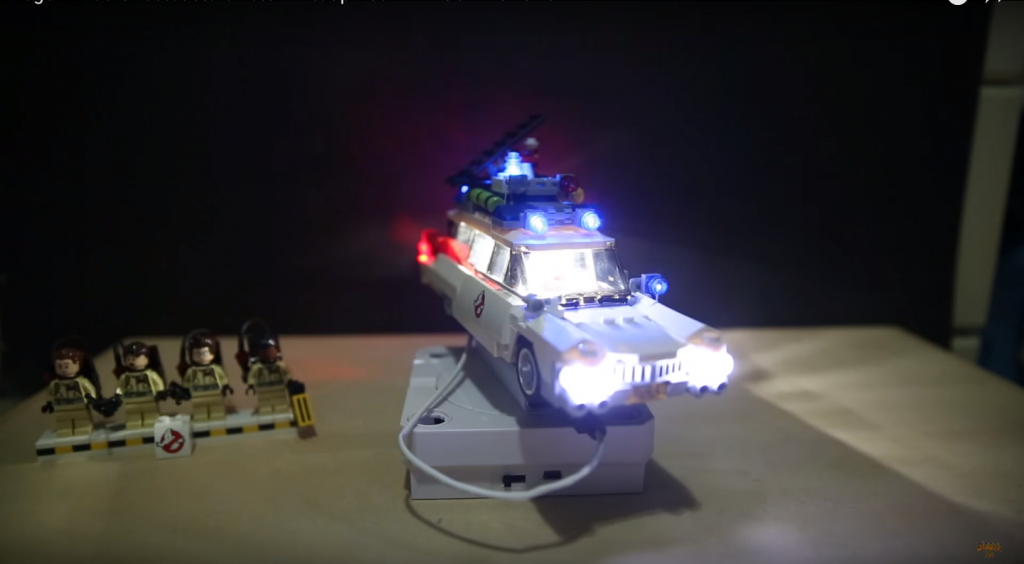 Review LED Light for LEGO GHOSTBUSTERS ECTO 1 21108 2 - Bricks Delight