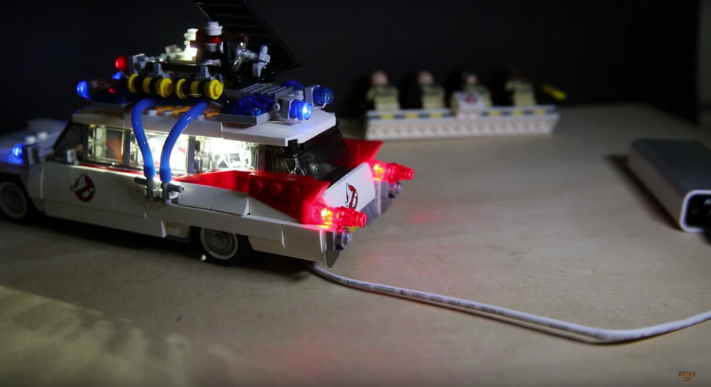 Review LED Light for LEGO GHOSTBUSTERS ECTO 1 21108 4 - Bricks Delight