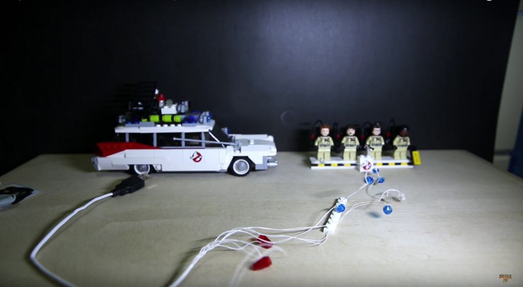 Review LED Light for LEGO GHOSTBUSTERS ECTO 1 21108 5 - Bricks Delight