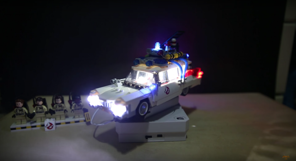 Review LED Light for LEGO GHOSTBUSTERS ECTO 1 21108 6 - Bricks Delight