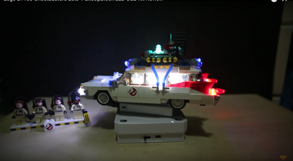 Review LED Light for LEGO GHOSTBUSTERS ECTO 1 21108 7 - Bricks Delight