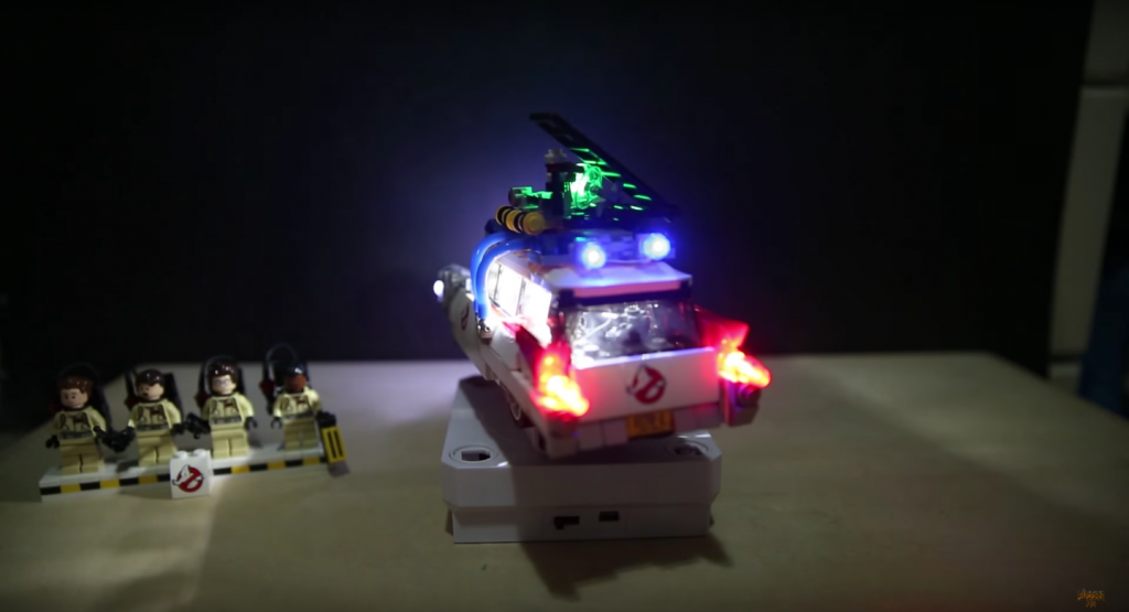 Review LED Light for LEGO GHOSTBUSTERS ECTO 1 21108 9 - Bricks Delight