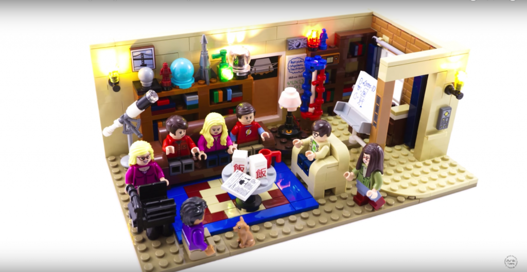 Review LED Light for LEGO The Big Bang Theory 2130210 - Bricks Delight