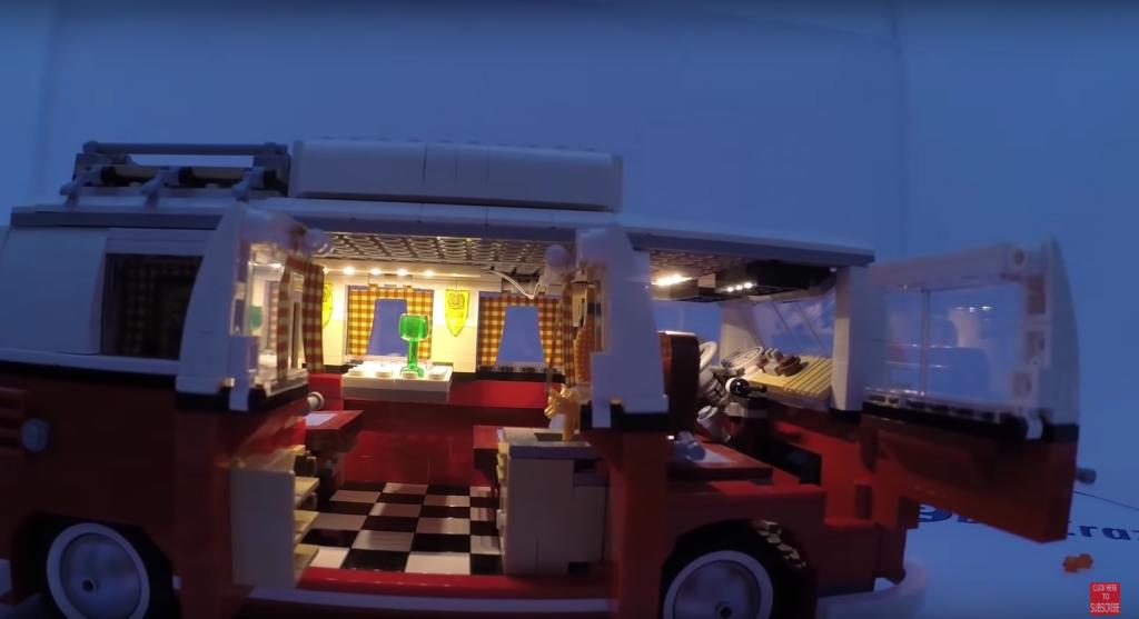 Review LED Light for LEGO VOLKSWAGEN T1 CAMPER VAN 1 - Bricks Delight