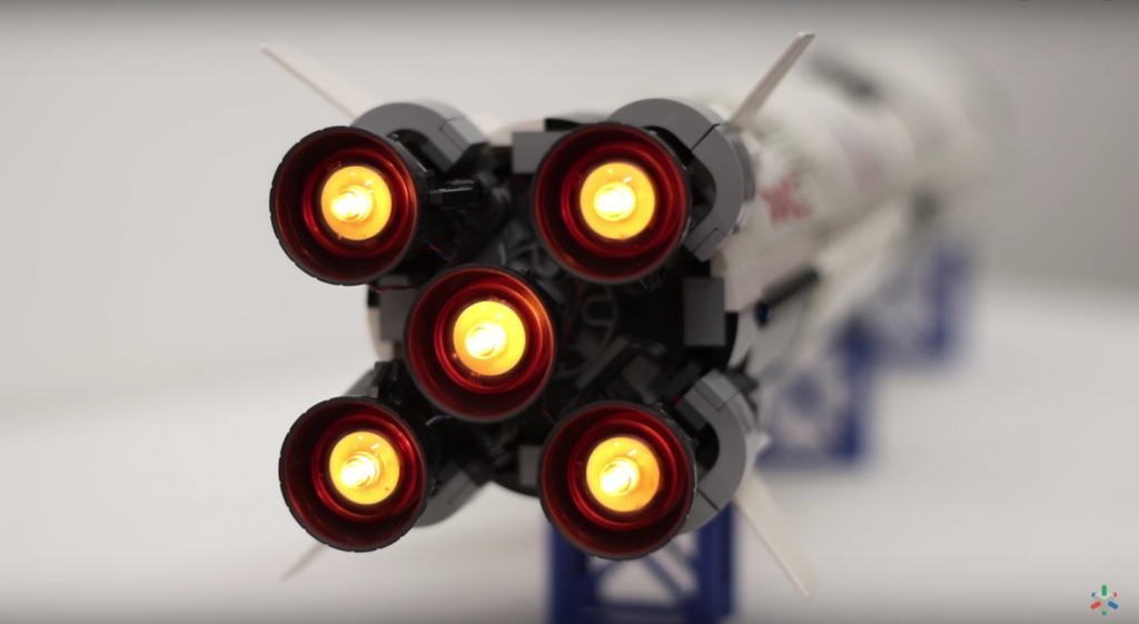 Review for LED Light for LEGO NASA Apollo Saturn V 21309 3 - Bricks Delight
