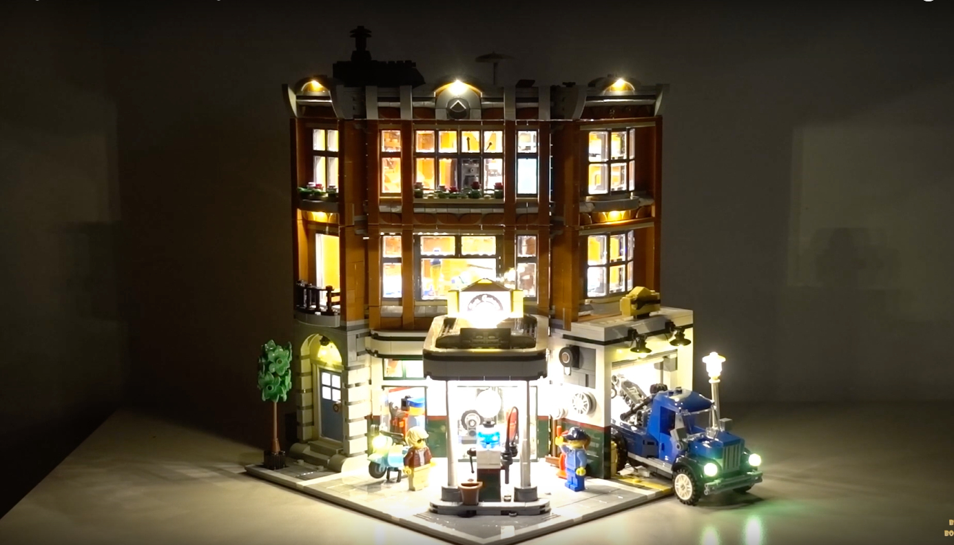 Review Led Light For Lego 10264 Corner Garage 8