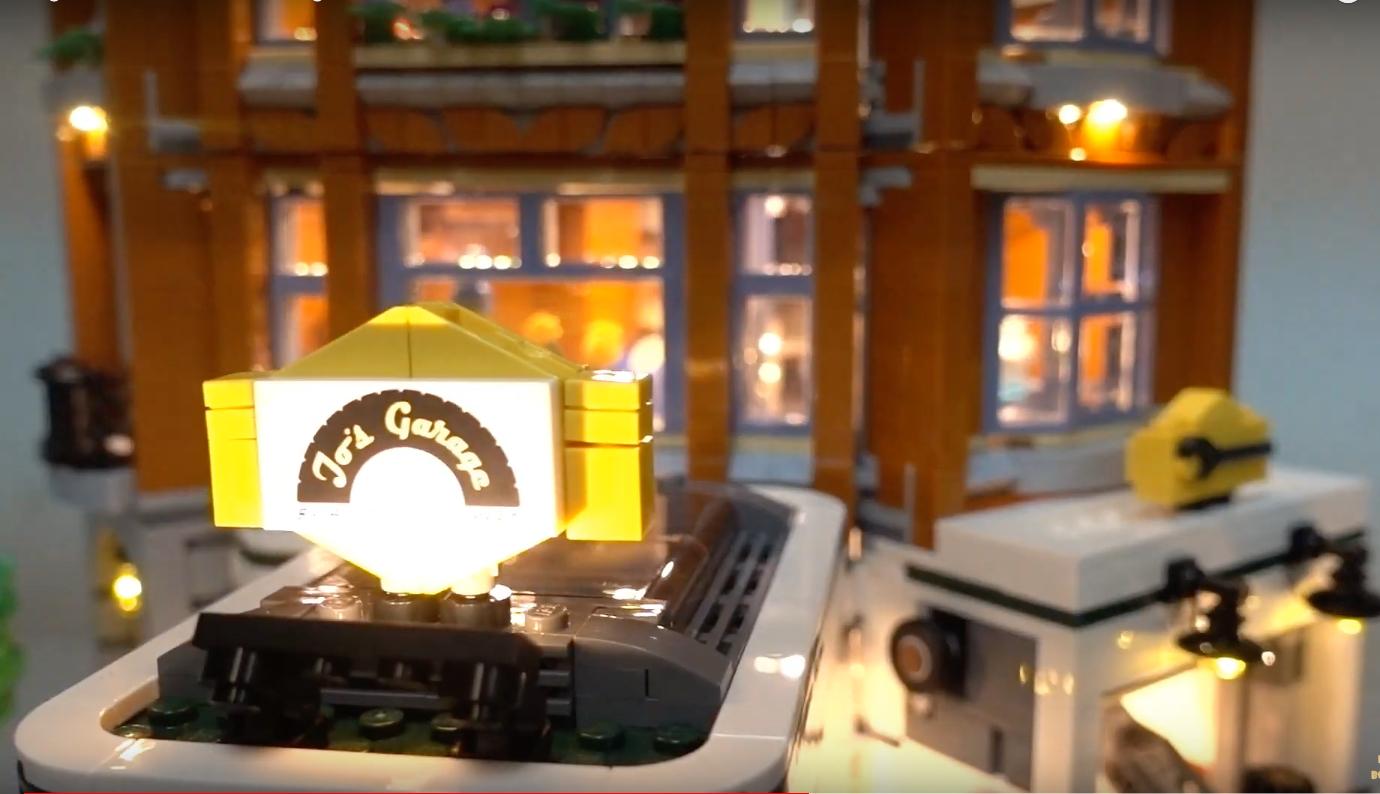 Review Led Light For Lego 10264 Corner Garage 2