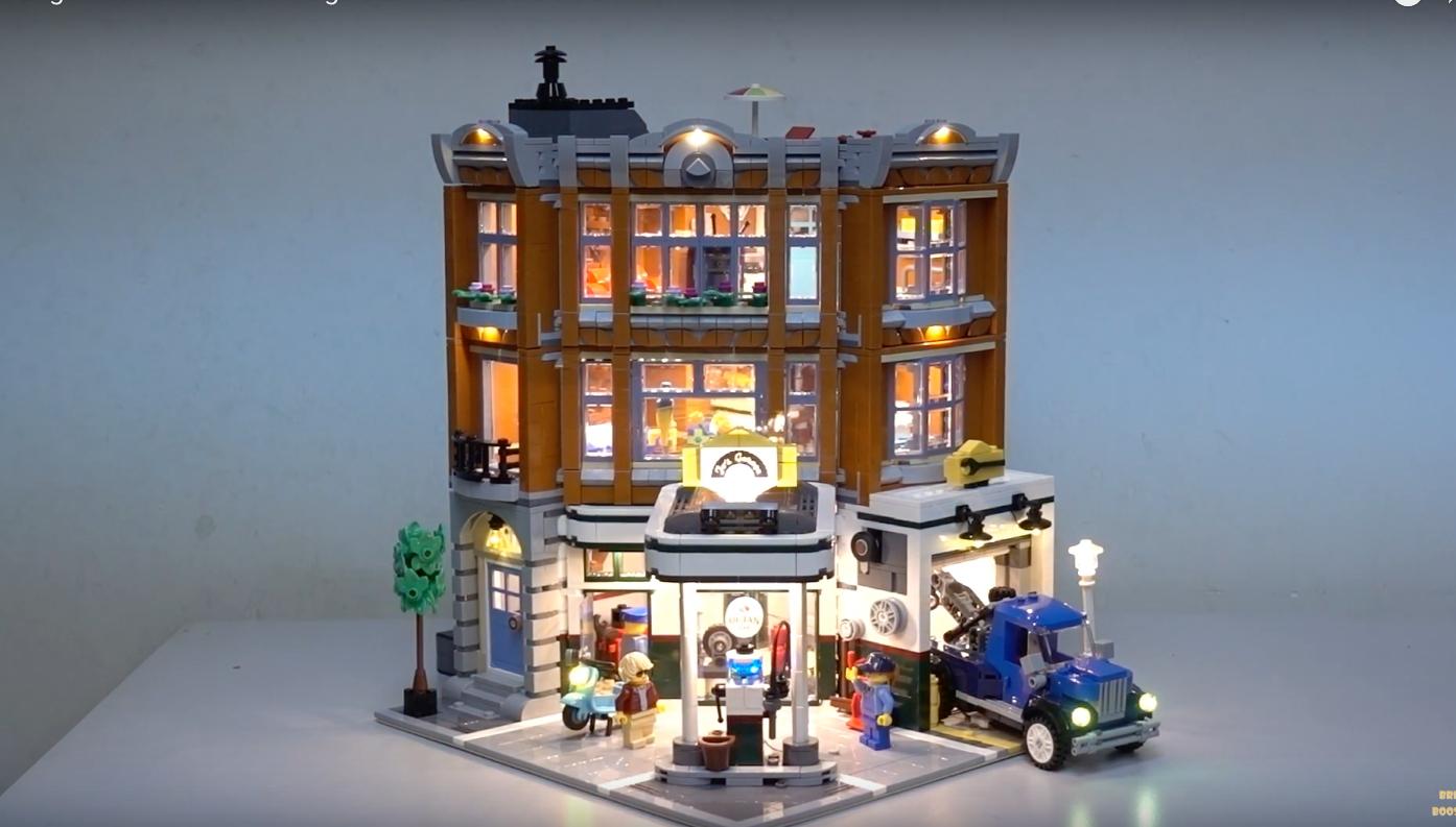 Review Led Light For Lego 10264 Corner Garage 9
