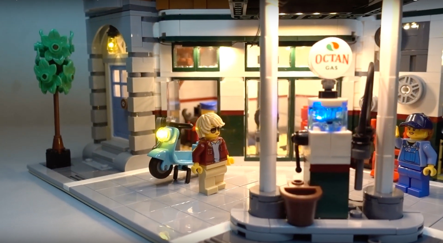 Review Led Light For Lego 10264 Corner Garage 4