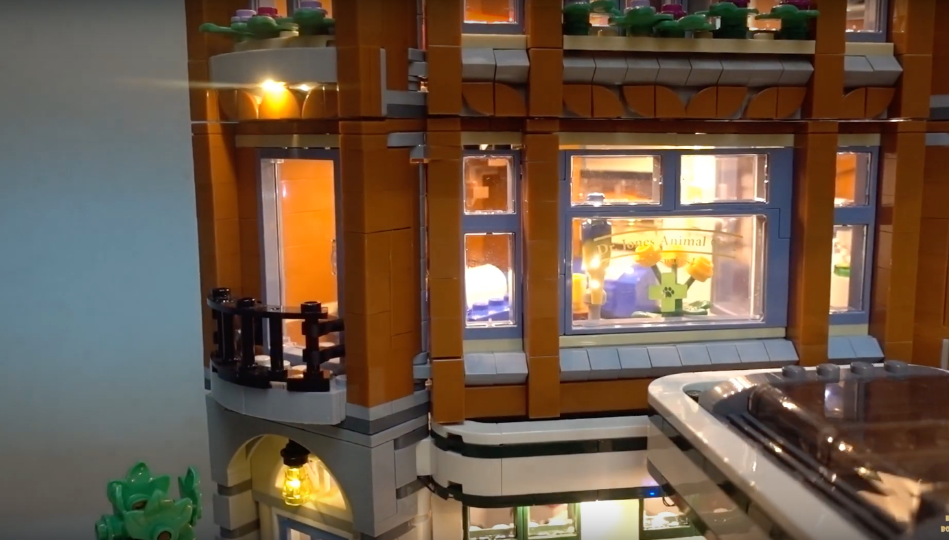 Review Led Light For Lego 10264 Corner Garage 1