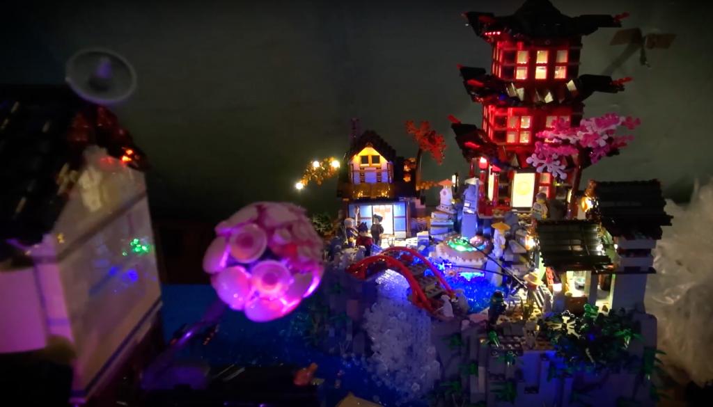 Lego 70751 Temple Of Airjitzu And Lego 70657 Ninjago City Docks 15 1