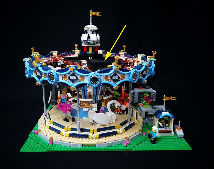 Review Led Ligh For Lego 10257 The Expert Carousel7 1