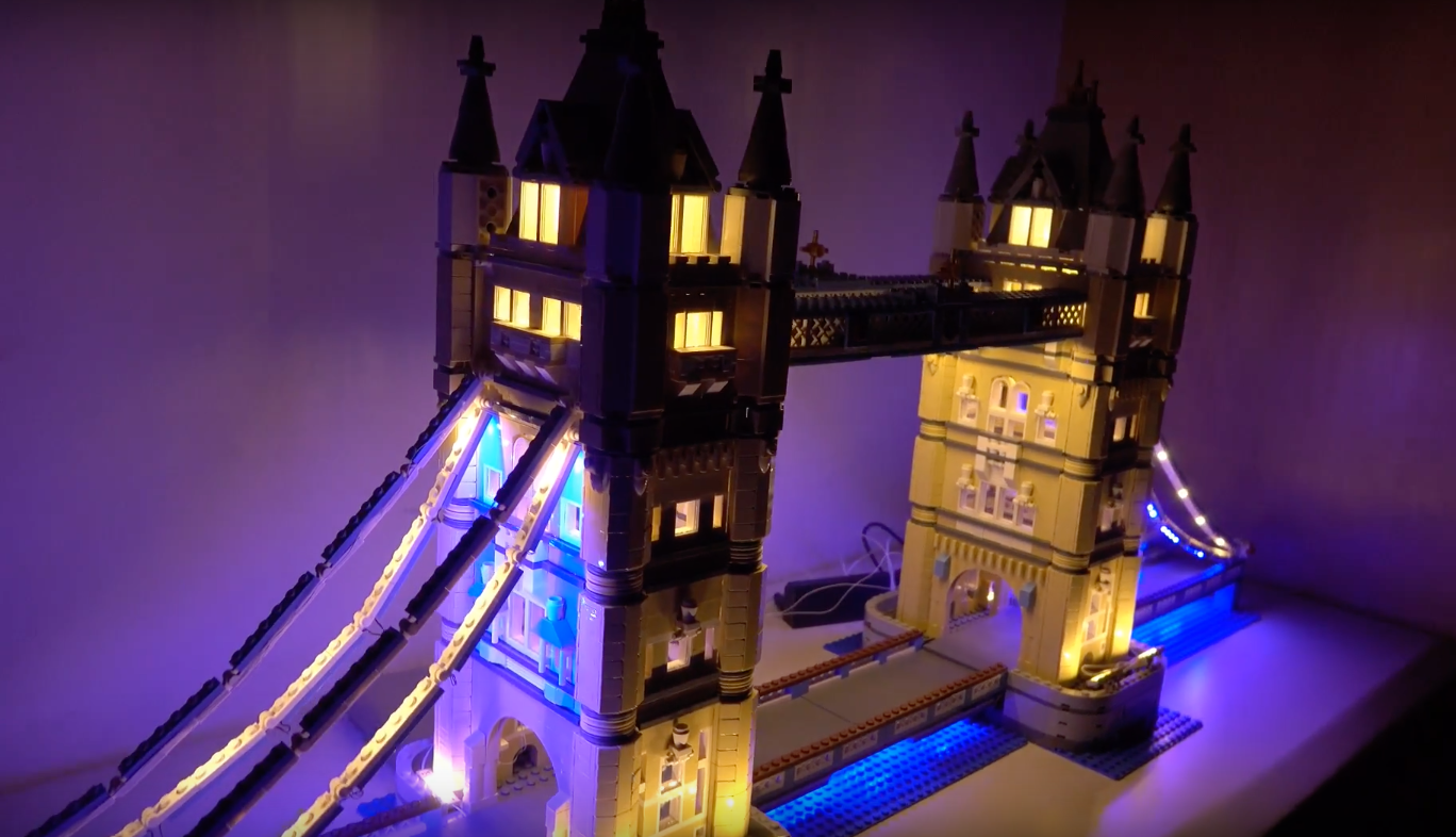 Review Led Light For Lego 10214 Tower Bridge1