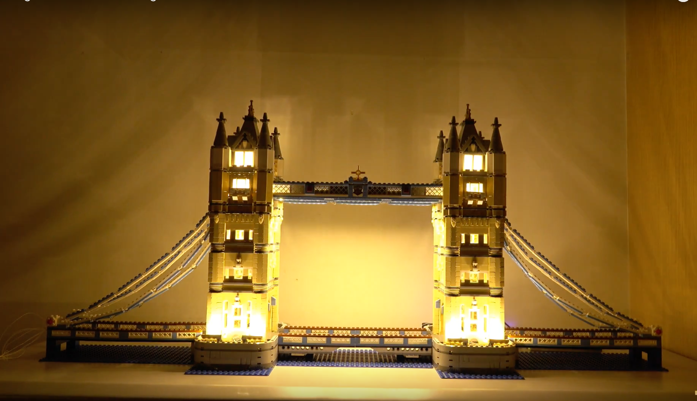 Review Led Light For Lego 10214 Tower Bridge10