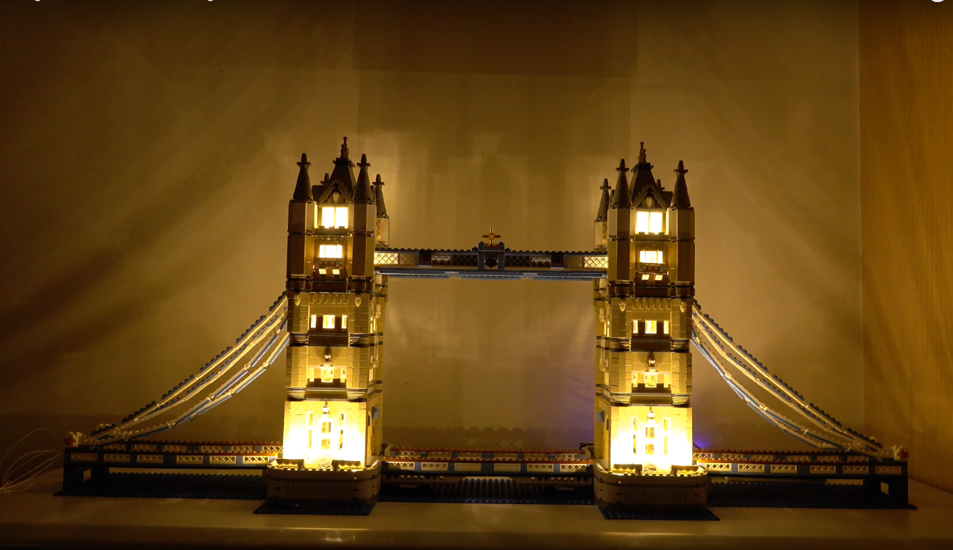 Review Led Light For Lego 10214 Tower Bridge7