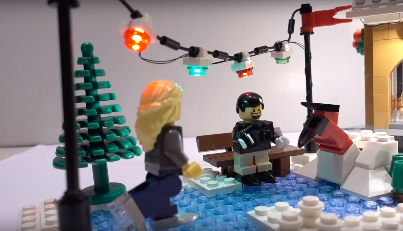 Review Led Light For Lego 10216 Winter Village Bakery2